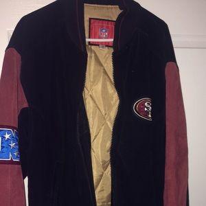 Men's 49 leather jacket